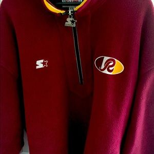 Washington Redskins Burgundy  Starter Jacket 2XL